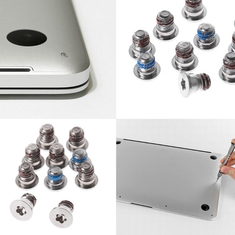 10Pcs Laptop Back Cover Small Screws For MacBook Pro Retina A1398 A1425 A1502 J6PB