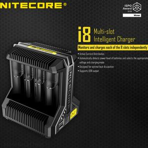 Image 4 - Nitecore i8 Intelligent Charger 8 Slots Total 4A Output Smart Charger for IMR18650 16340 10440 AA AAA 14500 26650 and USB Device
