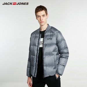 Image 3 - Jackjones 男性の冬の野球襟ショートジャケットスタイル 218412544