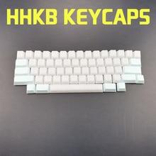 HHKB POM Blank Keycaps Static Capacitance Materia For Diy Mechanica Mechanical Keyboard Fog White Light Blue Oem Profile Keycap