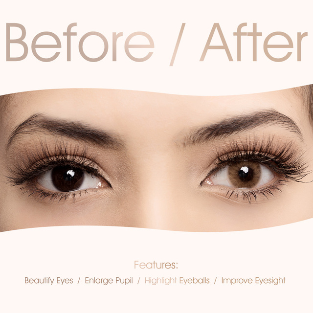 Freshgo hidrocor series χρωματιστοί φακοί επαφής για μάτια
