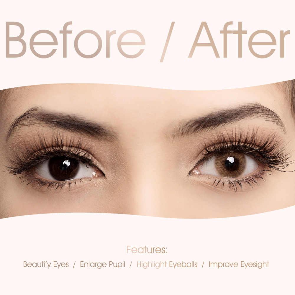 Freshgo Hidrocor Series Colored Contact Lenses Minus Degree Prescription Eye Colored Lenses Natural Looking Eye Makeup Lens Aliexpress