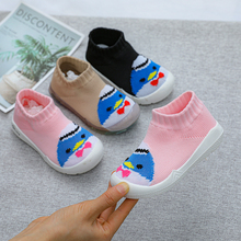 Flying woven baby shoes for men and women, baby first shoes, baby first walker, soft rubber soles, non-slip knitted seasons shoe