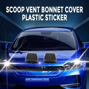 Image 3 - 1 Cái Đa Năng Ô Tô Xe Máy Hút Trang Trí Máy Muỗng Turbo Bonnet Thông Hơi Bao Nhựa ABS 12.8*9.8*2 Inch Kiểu Dáng Xe