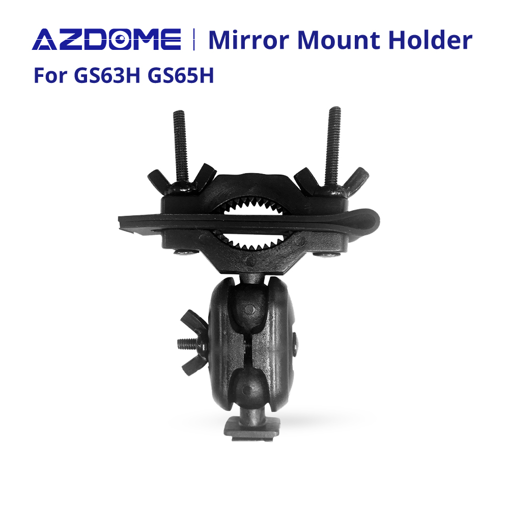 Car Mirror Mount Holder Rearview DVR Driving Video Recorder For AZDOME GS63H GS65H M06 Dash Cam Registrator Bracket Camera DVRs