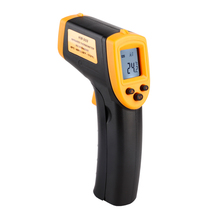 Handheld Non-Contact Laser Pyrometer Point Gun Thermometer LCD Digital Electronic Thermometer IR Infrared Thermal Imager недорого