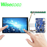 wisecoco 7 inch HDMI IPS Display 1920x1200 MIPI LCD With Driver Board USB Touch Support Win7 8 10 Raspberry Pi 3 TFTMD070021