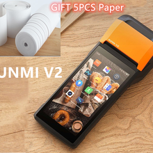 Thermal-Printer Register Cash One-Machine Handheld Mobile Android Pos Sunmi V2 Smart