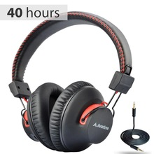 Avantree Audition 40 HR Bluetooth Over Ear Headphones with Microphone for PC Computer Phone Call, aptX HiFi Stereo