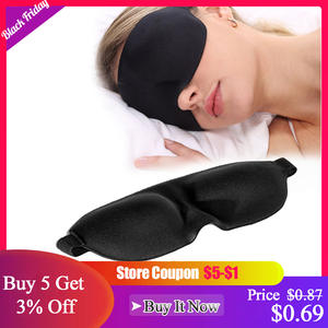 3D Sleep Mask Natural Sleeping Eye Mask Eyeshade Cover Shade Eye Patch Soft Portable Blindfold Travel Eyepatch eye cover Goggles