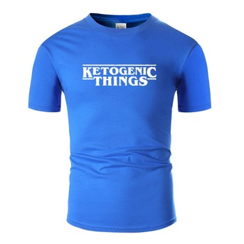 Custom Slogan White Ketogenic Things T Shirt Hipster Outfit O-Neck Male Comic Men And Women T-Shirts 2020 Top Tee