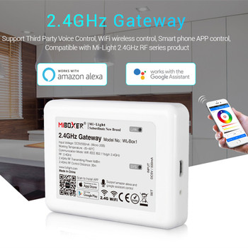 WL-Box1 LED WIFI Controller Smart Wireless 2.4GHz Gateway Voice WiFi rgb Controller For Mi Light LED Bulb Strip Light Lamp