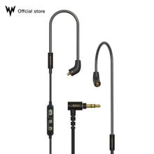 Whizzer Mmcx Upgrade Kabel 6N Occ Monokristallijn Koper Gewijd Voor A15 Fiio Lc Re Sony Met Mic Volume controle Originele