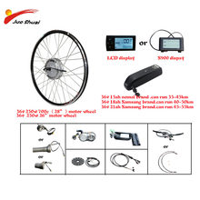 bafang 36V 250W Electric Conversion Kit with battery 8FUN Hub moteur e vélo vélo électrique Kit de Conversion de vélo Bicicleta(China)