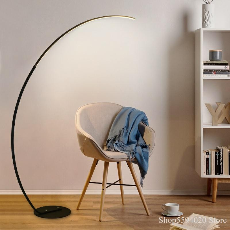 Design Long Arm Led Floor Lamp Modern