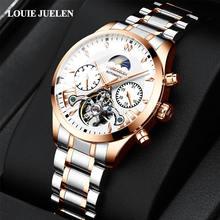 Louiejuelen автоматические механические часы Классический Для