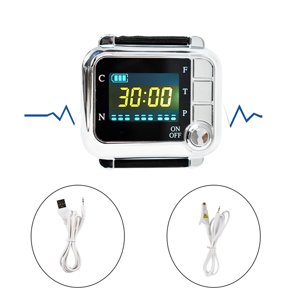 Household 650nm Laser Physiotherapy Wrist Diode LLLT for Diabetes Hypertension Treatments Diabetic Watch Laser Sinusitis Therapy