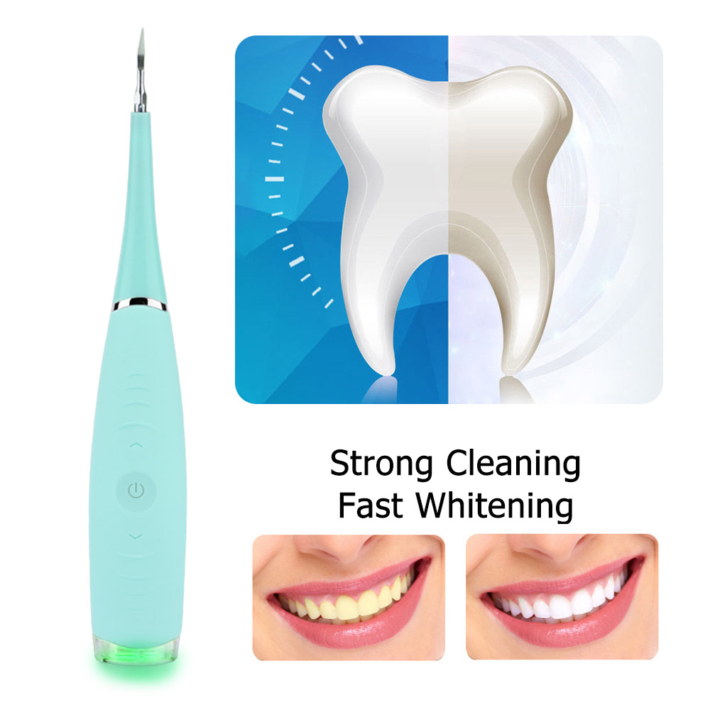 Ultrasonic Electric Vibration Toothbrush Dental Calculus Stain Remover Waterproof Sonic Teeth Whitening Cleaner Oral Care Tool