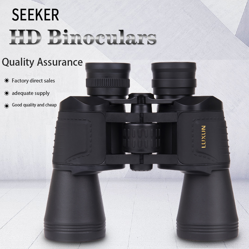 Telescope Light Night 20x50 Hunting High Eyepiece Telescope Low LUXUN Outdoor Big HD Binoculars Powerful Magnification Vision