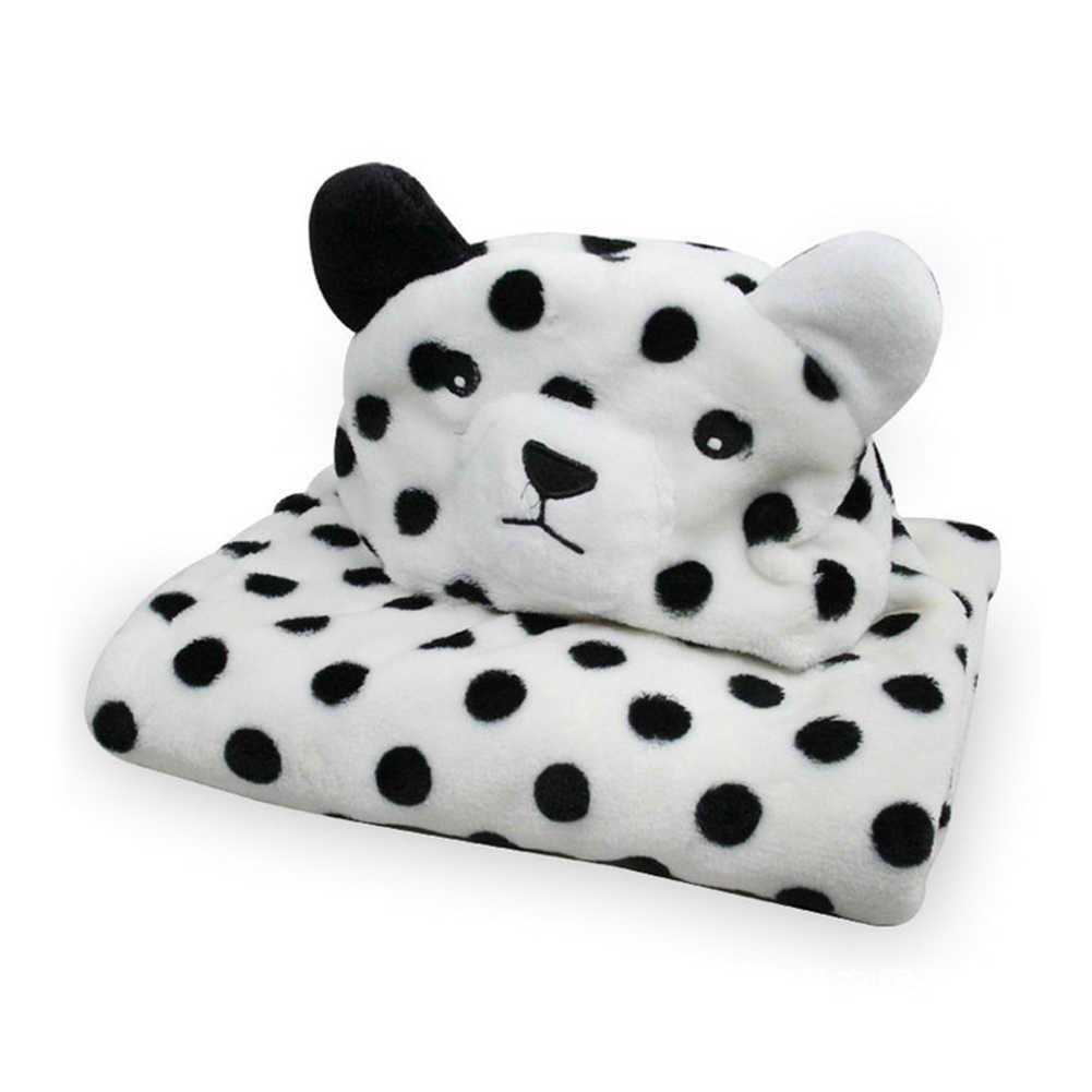 Linda toalla con capucha para bebé con forma de Animal lindo recién nacidos de lana de bebé Toalla de baño Albornoz