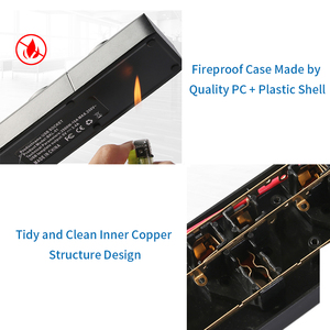 Image 3 - NTONPOWER Universal Power Strip 4 USB Charger Smart Home Electronic Socket EU Plug Extension cord For EU UK AU US