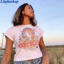 Moda t-shirts menina de alta qualidade tecido algodão macio verão mulheres t streetwear fácil ajuste femme vestidos dropshipping