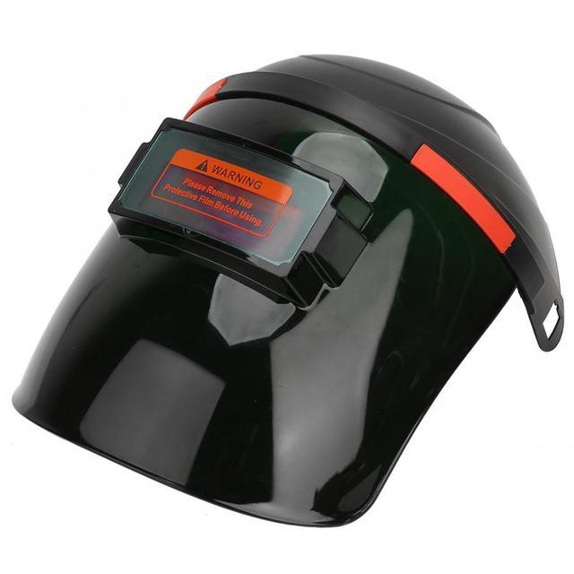 Solar Sensor Auto Lasfilters Masker Welder Gezicht Shield Beschermende Helm Cap Voor Argon Arc Gas Lassen 90*34mm Weergavegebied