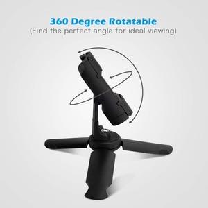 Image 5 - Duszake Mini Statief Met Bluetooth Remote Shutter Voor Iphone Huawei Mini Telefoon Statief 360 Roterende Telefoon Houder Clip Stand
