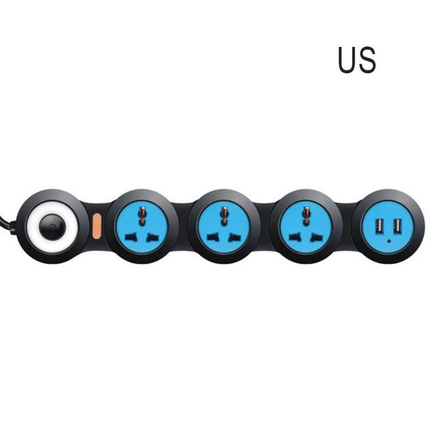 Surge Protector Power Strip With Usb Flexible Rotating Pivot Outlets Usb Charging Ports Extension Cord