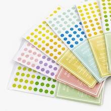 2020 6 Φ 3 разных размера красочные точки декоративные Стикеры