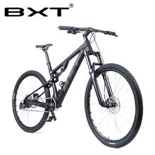 BXT 29er Full Suspension Mountain Bicycle T800 Carbon MTB Bike 11Speed Carbon S/
