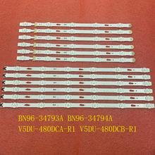 12 stücke led hintergrundbeleuchtung streifen für UE48JU6500 UE48KU6400 UE48KU6500 UE48JU6400 UE48JU6000 UE48MU6000 UE48JU6440 UE48JU7800 UE48JU6770