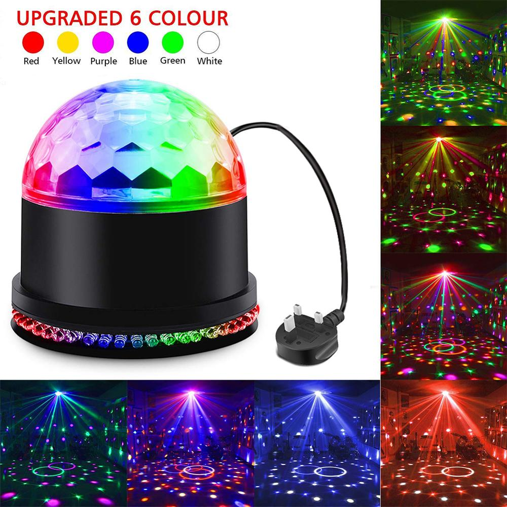15W Sound Activated DJ Disco Lights Party Lights Dj Lighting For Home Room Dance Parties Birthday DJ Bar Karaoke Xmas Wedding