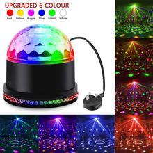 15W Sound Activated DJ Disco Lights Party Lights Dj Lighting for Home Room Dance Parties Birthday DJ Bar Karaoke Xmas Wedding