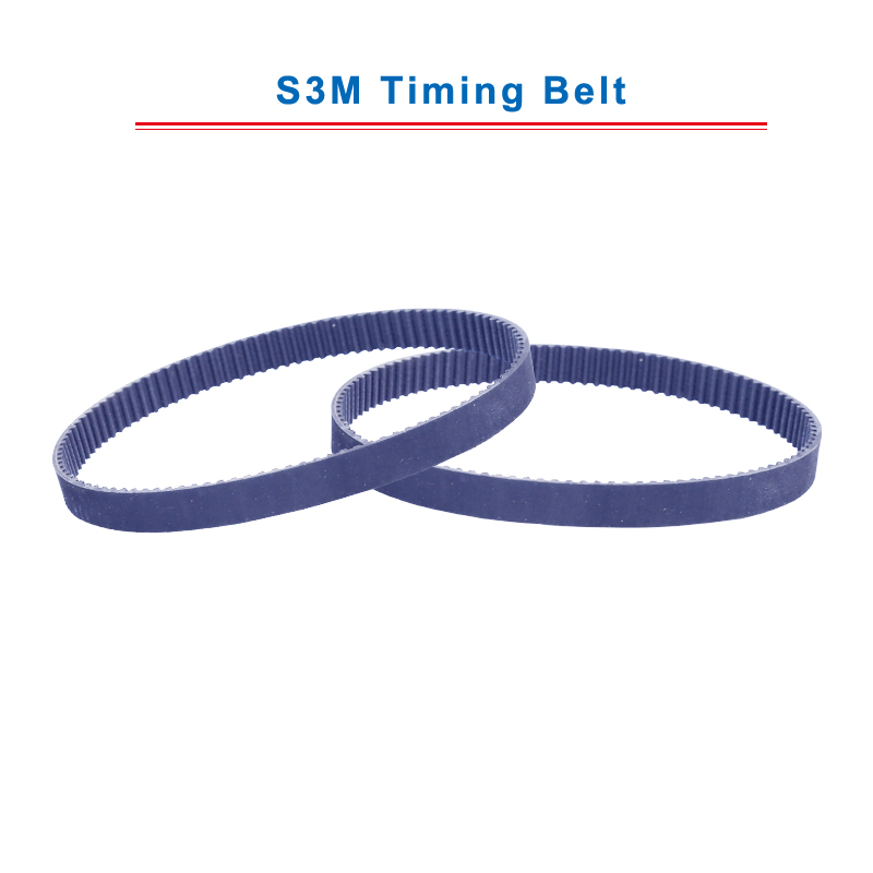 S3M Timing Belt With Circular Teeth Model  S3M-273/276/279/282/285/288/291/294/297/300 Teeth Pitch 3mm Belt Thickness 2.2mm