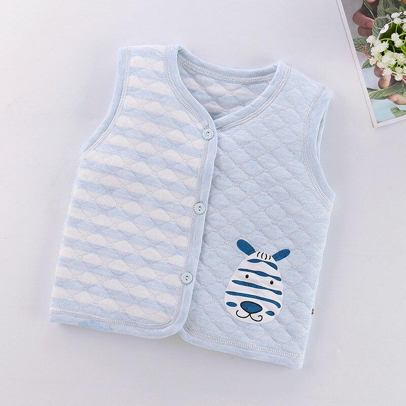 PPXX Children Baby Cotton Vest Waistcoat Kids Vest Toddler Baby Vest for Boys Girls Clothes Jacket Sleeveless Coat Newborn 2