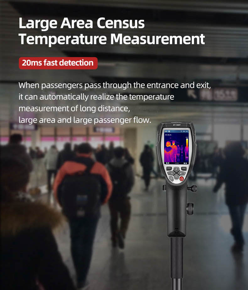 Infrared Thermal Camera With Live Streaming to Computer or TV Bluetooth For Human Body 8