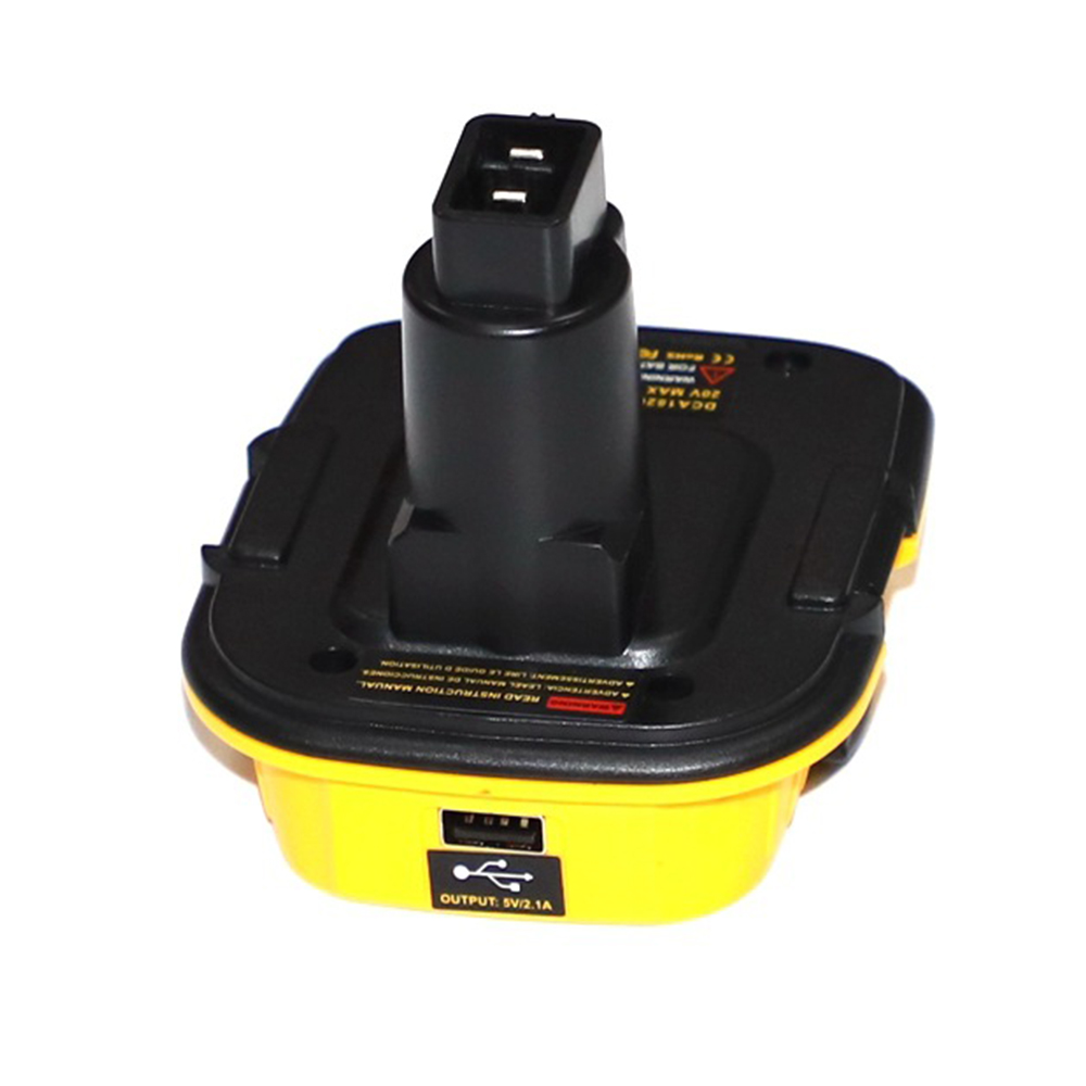 Battery Convertor Adapter DCA1820 For Dewalt 18V 20V Tools Convert For Dewalt  NiCad & NiMh All Lithium Battery Convertor
