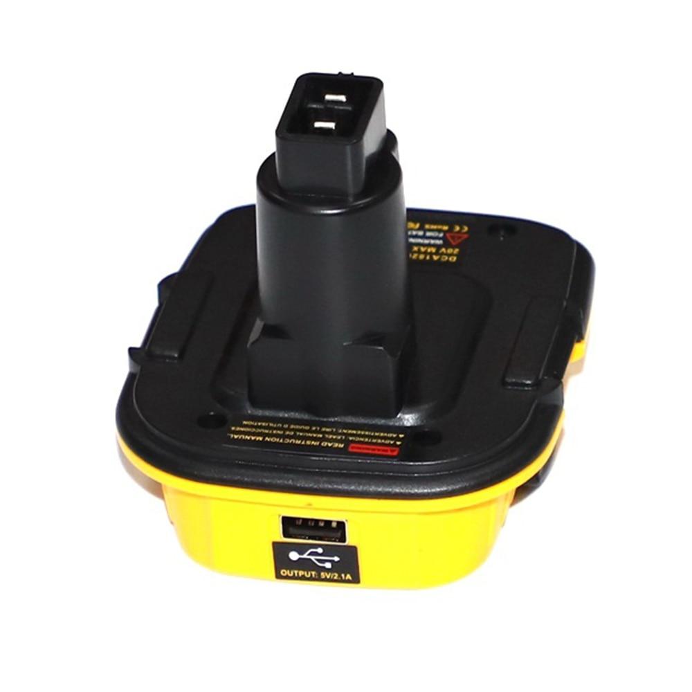 Battery Convertor Adapter DCA1820 For Dewalt 18V 20V Tools Convert For Dewalt  NiCad & NiMh All Lithium Battery Convertor