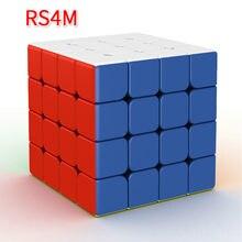 Moyu Rs3m 2020 manyetik 3x3x3 küp Moyu MF RS2M 2x2 RS4M 4x4 magico küpleri Rs4 M manyetik küp bulmaca küp oyuncaklar çocuklar için