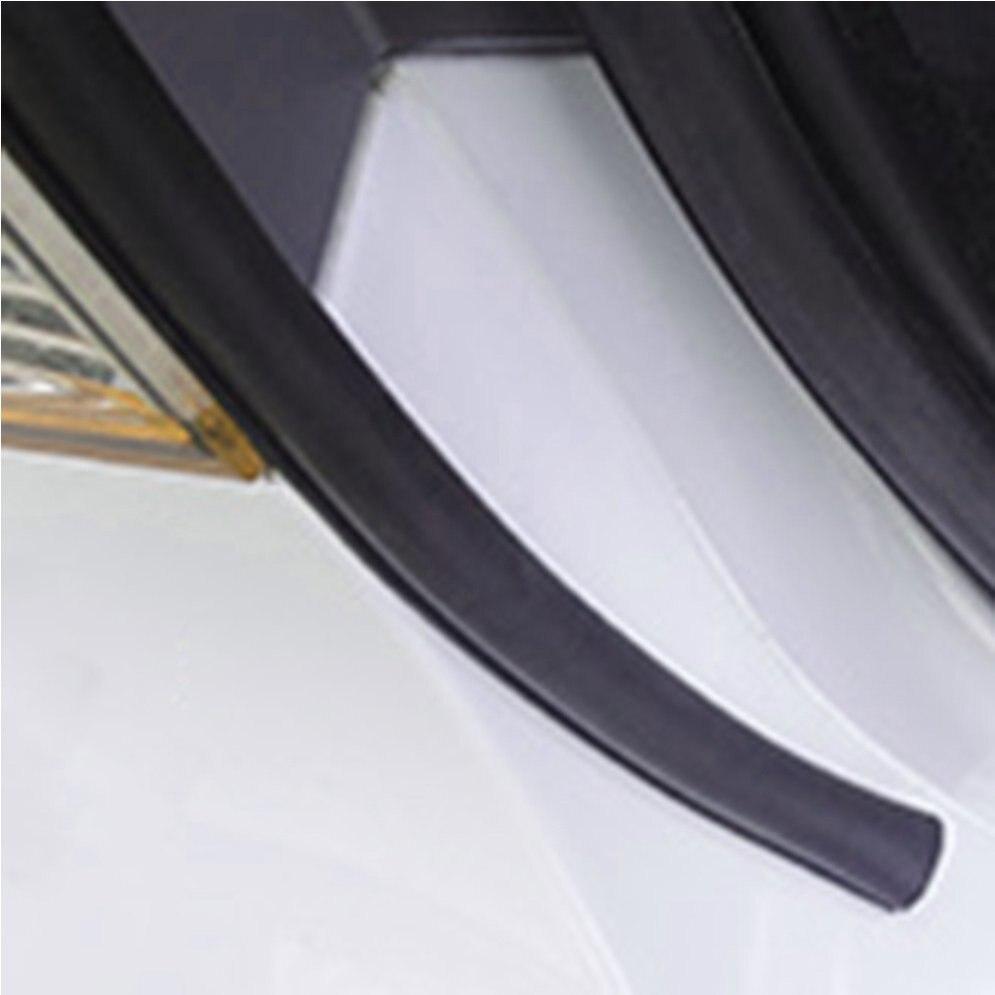 Universal 4Meter Big D Type Filler Adhesive Car Rubber Seal Sound Insulation Car 4M Door Seal Strip Weatherstrip