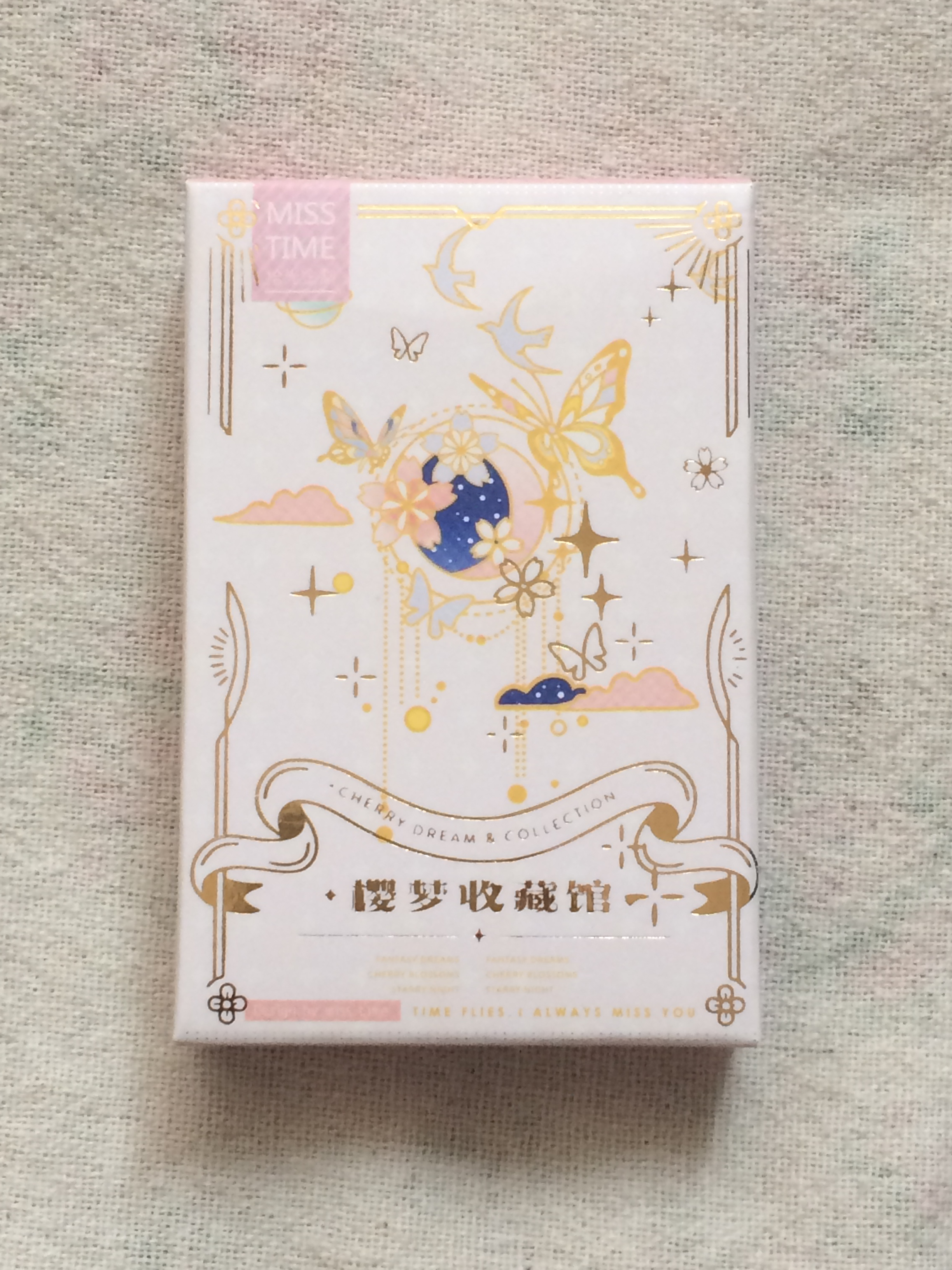 52mm*80mm Flower Dream Paper Greeting Card Lomo Card(1pack=28pieces)