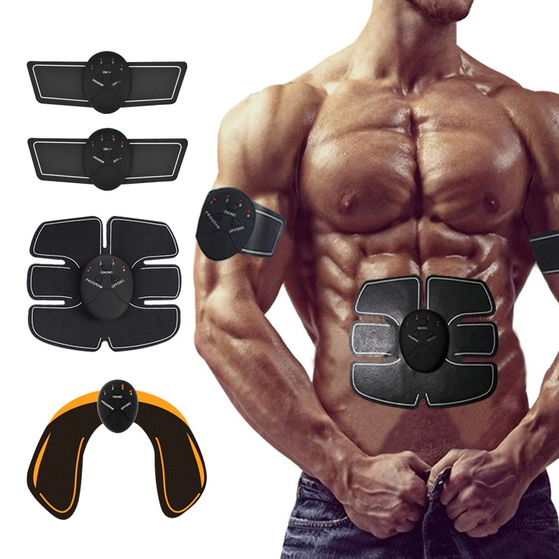 Electric Muscle Stimulator EMS Buttocks Hip Trainer Abdominal Stimulator smart Fitness Body Slimming Electric Massager Unisex