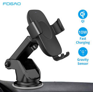 FDGAO Car-Mount-Holder Mi Wireless-Charger Xiaomi iPhone 11 Fast For Samsung 10W Qi Car