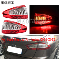 MZORANGE Left/Right Side Outer Rear Tail Light Lamp tail light BS71 13405 AC For Ford Mondeo For Fusion 2011 2012