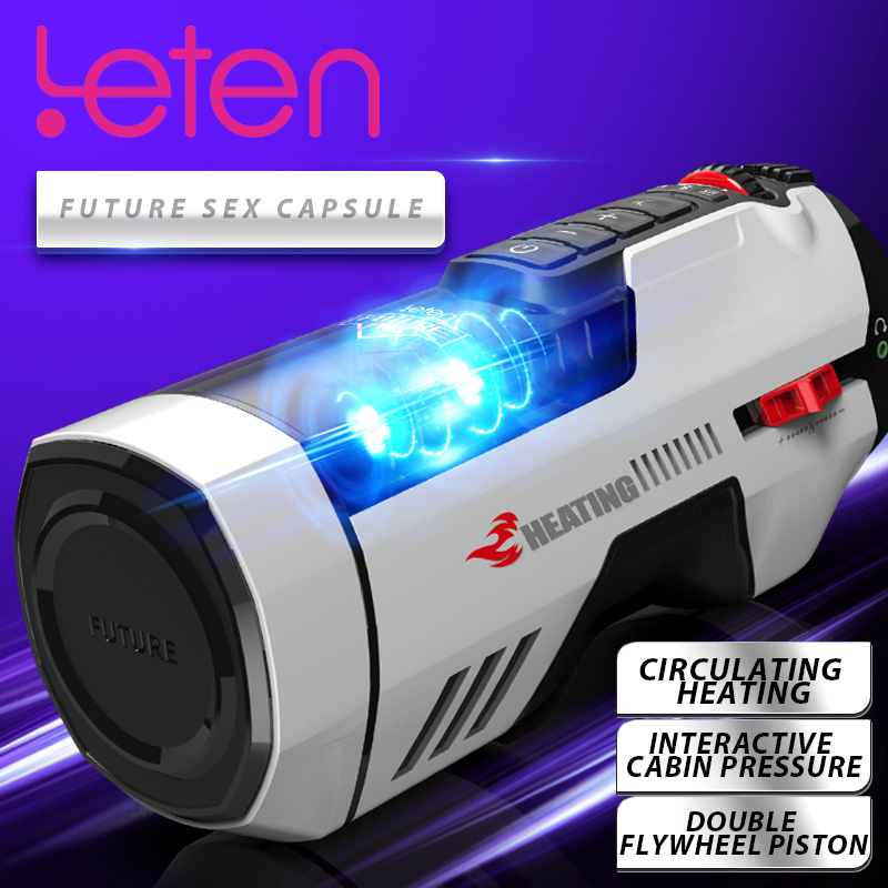 Leten Male Masturbators Automatic Rotation Telescopic Heating With Voice Vagina <font><b>Vibrator</b></font> Masturbation Cup <font><b>Sex</b></font> <font><b>Toys</b></font> <font><b>For</b></font> <font><b>Men</b></font> image