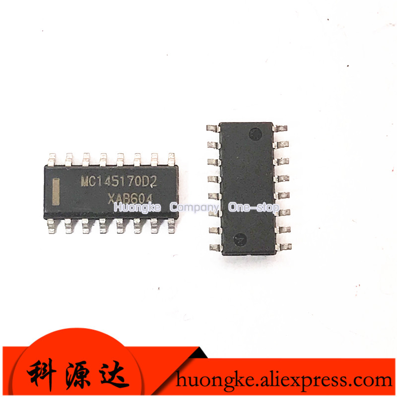 5PCS/LOT MC145170D2 MC145170 MC145170D2R2 SOP-16 IC SERIAL PLL FREQ SYNTH 16SOIC