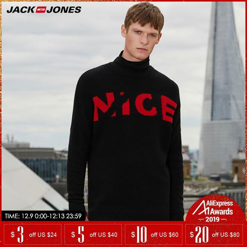 Jack Jones Wool Men Knitted Sweater| 218325509