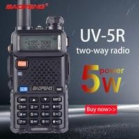 128ch 5w vhf uhf Baofeng UV-5R טוקי ווקי שני הדרך גירסת השדרוג CB רדיו Baofeng uv5r 128CH 5W VHF UHF 136-174Mhz & 400-520Mhz (1)