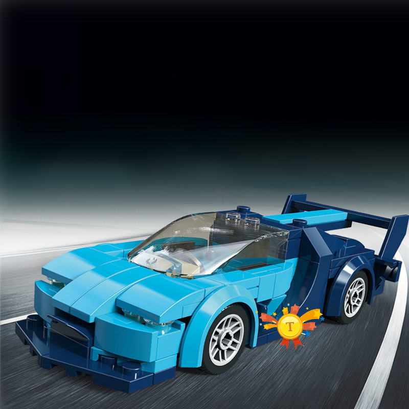 VELOCIDADE CAMPEÕES Bugattis Blocos de Construção Kit Bricks Modelo Clássico Crianças Brinquedos Para Presente Das Crianças